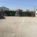広~い園庭と遊具